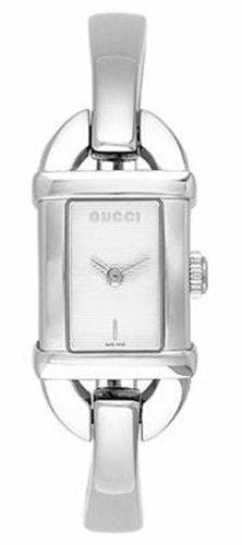 Gucci 6800L - Reloj para Mujer con Correa de Acero, Color marrón/Gris: Amazon.es: Relojes