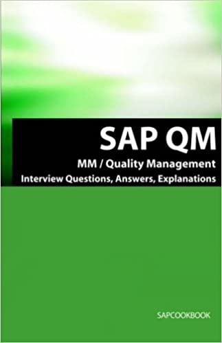 SAP QM Interview Questions