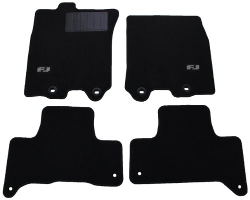Genuine Toyota Accessories PT206-35122-16 Carpet Floor Mat for Select FJ Cruiser Models (Toyota Fj Cruiser Custom Mats)