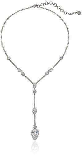 nicole-miller-nmny-pear-rhodium-y-shaped-necklace