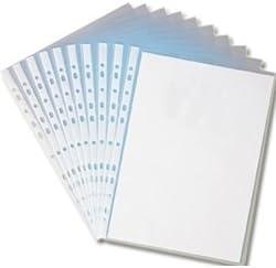 con fori In plastica trasparente formato A4 buste per documenti 5000