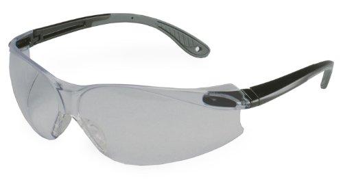 3M  11673 Virtua V4 Anti Fog Safety Glasses  Black Frame  Gray Lens