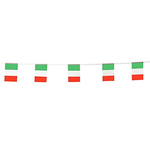 Italy Flags Italian Small String Flag Banner Mini National Country World Flags Pennant Banners For Party Events Classroom Garden Olympics Festival Grand Opening Bar Sports Clubs Celebration Decoration]()
