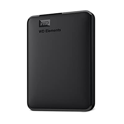 WD Elements Portable External Hard Drive (Renewed) by WD
