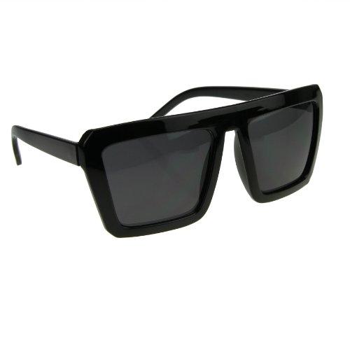 de Black Frame Lens BXT Gafas Gloss Grey hombre sol para 6xx5w81q