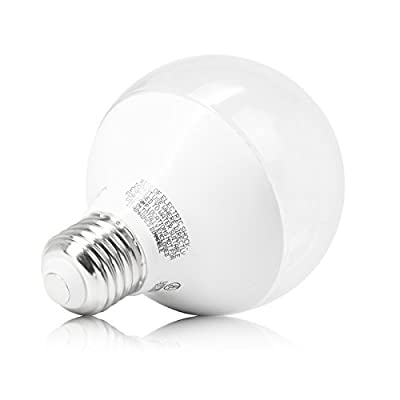 (3-Pack) EcoSmart LED G25 40W Replacement (Uses only 4.5W) Soft White (2700K) Dimmable Globe for Bathroom Vanity