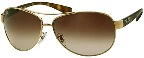 2c652a6a5e Ray-Ban Sunglasses - RB3386   Frame  Gold Lens  Brown Gradient (63mm ...