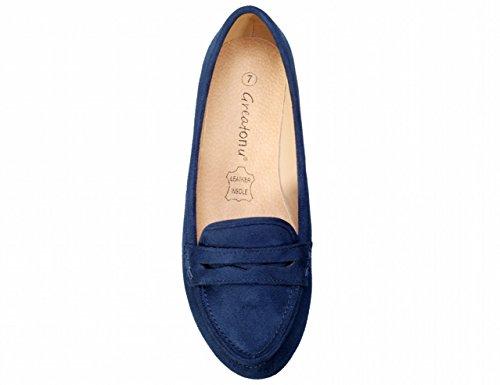 Ballet Donna Donna Mocassini Greatonu Blue Greatonu Mocassini Ballet ZqzW56Xw