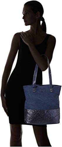 Blue 1 Women's Bleu des Cerises Beverly Temps Le Tote tvanqXw0cx