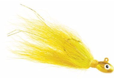 Pompano Jigs Yellow Shad 72 packs of 2 by Salt Water Sandals