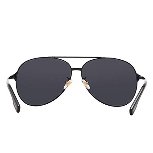 Polarizadas Gafas yc De Conducción Negro Sol negro Moda Segura Clásica color Negro Youyou Pareja w1qaI5dx1