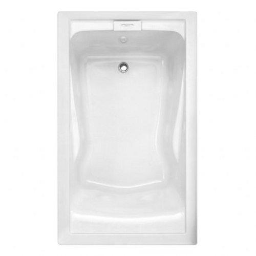 American Standard Evolution Tub - American Standard 7236V002.222 Evolution 6-Feet by 36-Inch Deep-Soak Bathtub, Linen