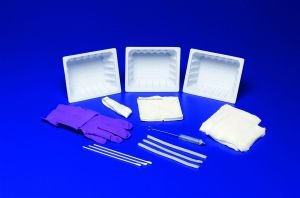 Kendall Tracheostomy Care Trays With Latex Gloves - Sku KND42201_CS20 by Kendall (Image #1)