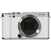 Fujifilm X-A2 Mirrorless Digital Camera (White Body Only) - International Version (No Warranty)