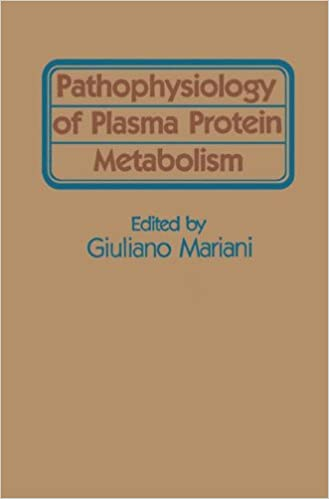Book Pathophysiology of Plasma Protein Metabolism