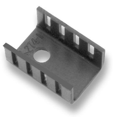 Heat Sinks TO-220 LOW PROFILE 100 pieces