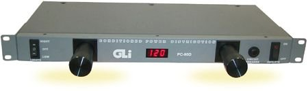 GLi Pro POWER CONDITIONER, Steel Grey, 1.75 x 19.00 x 8.50 inches (PC-90)