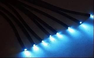 Fibre optic lighting cable in black PVC waterproof tube  DIY  star ceiling    Fibre optic lighting cable in black PVC waterproof tube  Amazon co  . Fibre Optic Ceiling Lights Uk. Home Design Ideas