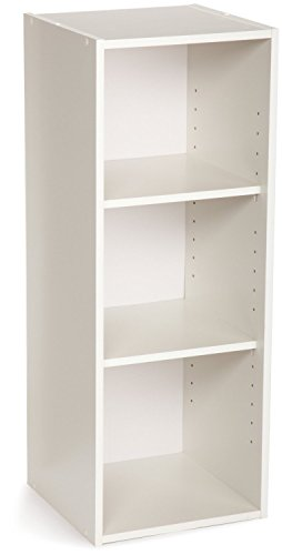 ClosetMaid 8987 Stackable 3-Shelf Organizer, White. 2-Pack
