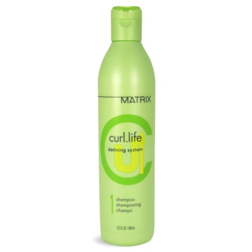 Matrix Curl Life Defining System Shampoo, 13.5 Ounce (Matrix Hair Products Curl Life)