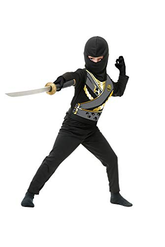 Charades Child's Ninja Avenger Series 4 Costume, Black,
