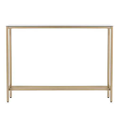 Furniture HotSpot – Metal Skinny Console Table 36×29.5