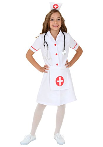 Child Nurse Costume Medium -