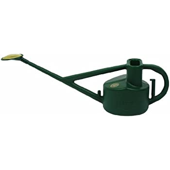 Bosmere V115 Haws Plastic Outdoor Long Reach Watering Can, 1.3-Gallon/5-Liter, Green