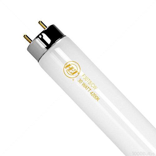 (Case of 30) F30T8CW - 3 ft. - 30 Watt - T8 Linear Fluorescent Tube - 4200K - Halco 9225