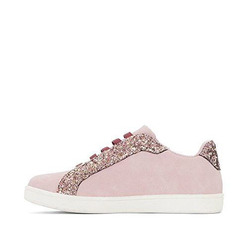 La Redoute Collections Mdchen Sneakers mit Pailletten Gr. 2639 Gre 37 Rosa
