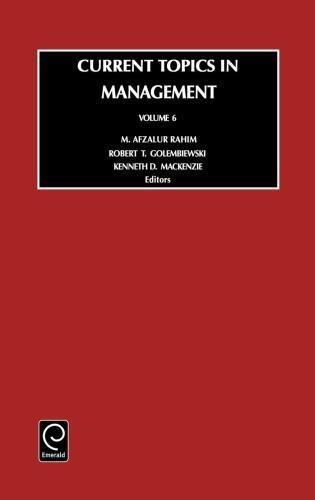Current Topics in Management, Volume 6