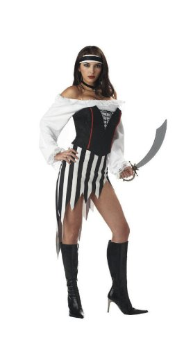 Buccaneer Babe Adult Costume (Small) -