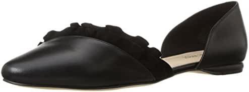 Nine West Women's Short Leather Ballet Flat