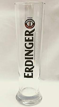 Erdinger - Vaso de cerveza (0,5 L, sin alcohol, cristal), color marrón