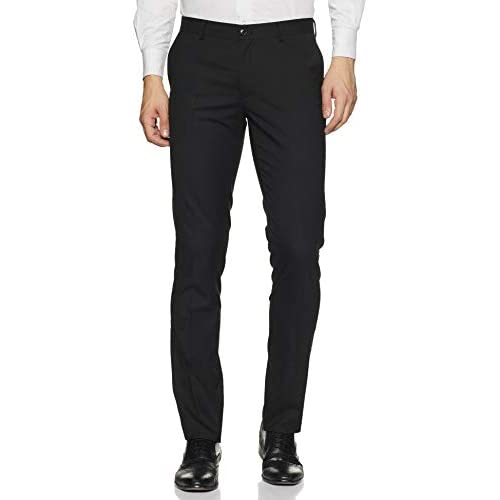 318N8YdOQxL. SS500  - Amazon Brand - Symbol Men's Slim Fit Stretchable Formal Trousers