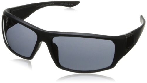 Dot Dash Destro Oval Sunglasses,Black Satin,62 - Dash Sunglasses