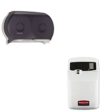 kitrcp5169sjmr4000tbk – Value Kit – Rubbermaid SeBreeze programable neutralizador de olores dispensador (rcp5169) y