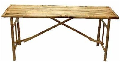 Bamboo 54 Long Table