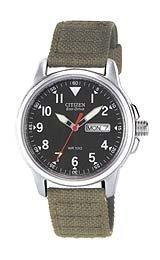 Eco Wr100 Drive Citizen - Citizen Watches Men's BM8180-03E Army/Black One Size