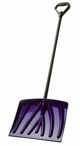 Suncast SN1000 18-Inch Snow Shovel, Navy by Suncast