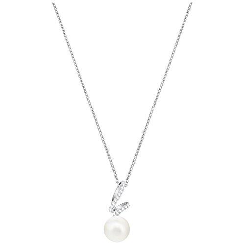 Swarovski Crystal Gabriella Rhodium-Plated Pendant ()