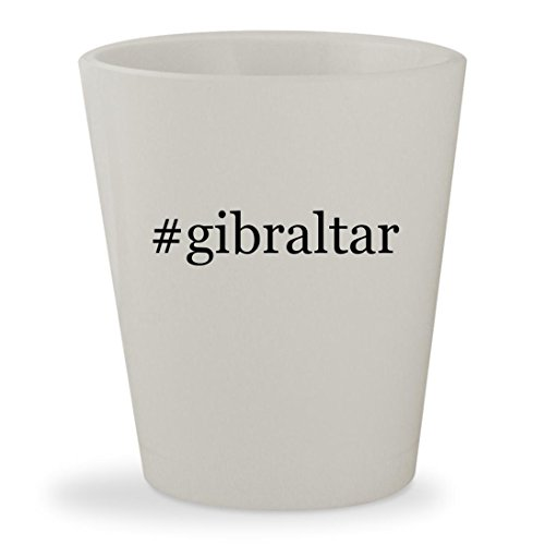 Mailsafe Locking Mailbox (#gibraltar - White Hashtag Ceramic 1.5oz Shot Glass)