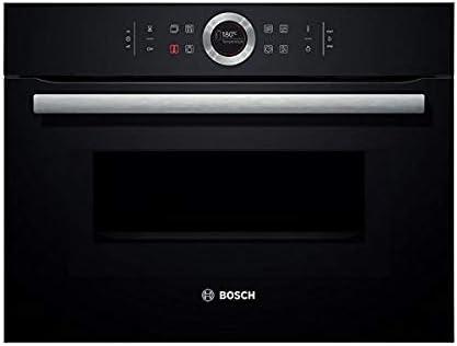 Bosch horno microondas columna 45 L con 12 programas en negro ...