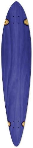 Blank Longboard Deck PINTAIL 40 X 9 board W Free shipping, Blue