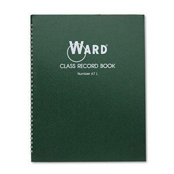 Ward® Class Record Book BOOK,CLASS RECORD BOOK (Pack of20)