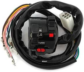 Amazon.com: Lights - Turn Signal - Horn Switch Assembly - Compatible with Yamaha  DT100 DT175 DT250 DT360 DT400: AutomotiveAmazon.com