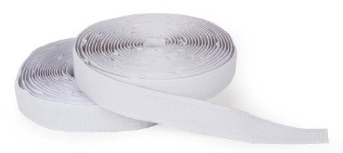 Darice Hook and Loop Strips - Strong Self-Adhesive Interlocking Tape - Great for Sewing, Crafting, Around The House and Classroom - Easily Cut to Size - 3/4