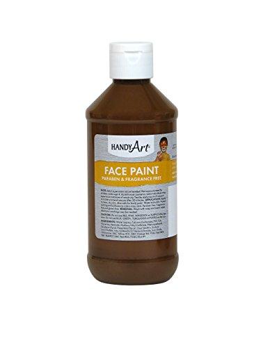 Handy Art Face Paint, Brown, (Brown Body Paint Halloween)