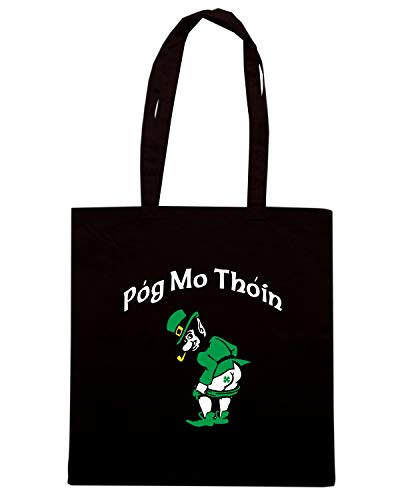 Shopper THOIN Borsa TIR0163 MO Speed Shirt Nera POG Ag8qfx