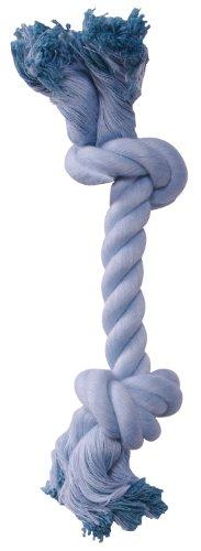 Cotton Bone Rope - 72375 Dogit Blue Cotton Rope Bone, Small